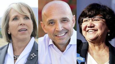 Tres candidatos latinos con opción de ser gobernadores