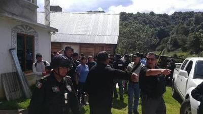 Rescatan a 22 migrantes centroamericanos que fueron secuestrados en el sur de México