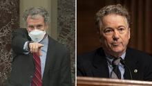 """Por """"respeto a los demás"""": el momento en el que exigen al republicano Rand Paul que use tapabocas"""