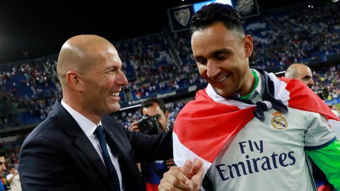Aseguran que Zidane no quería que Navas dejara al Real Madrid