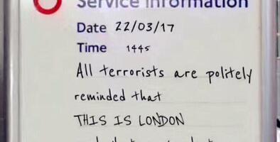 """""""A todos los terroristas: esto es Londres, ante cualquier cosa que nos hagan tomaremos té"""": el mensaje viral falso que celebró el Parlamento"""