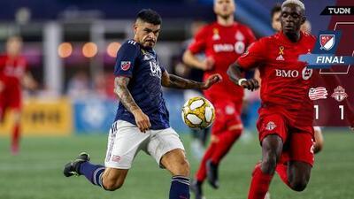 Gustavo Bou rescata un punto de oro para New England Revolution en duelo contra Toronto FC