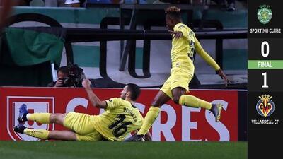 Gran San Valentín del Villarreal en victoria ante Sporting Lisboa por Europa League