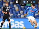 Hirving 'Chucky' Lozano tiene  un partidazo con el Napoli ante el Empoli