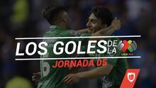 Revive los goles de la Jornada 5 del Clausura 2019