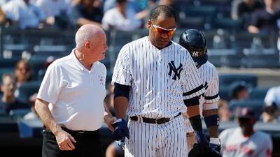 Yankees pierden a Edwin Encarnación por lesión