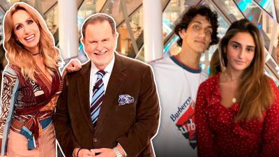 Retrojueves: así fue la emotiva despedida que Raúl y Lili le dieron a sus hijos cuando partieron de casa