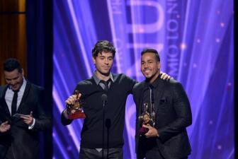 Romeo y Enrique fueron los reyes de la noche en 2015