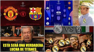 Memelogía | El sorteo de la Champions dejó divertidas burlas, incluso al Real Madrid