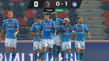 'Chucky' Lozano da triunfo al Napoli con excelsa asistencia