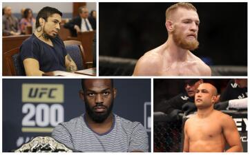 No solo Conor McGregor: peleadores de MMA que se han metido en problemas con la ley