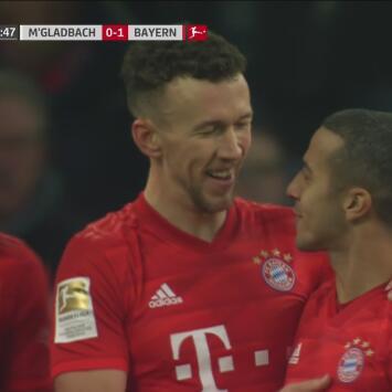 Golazo de Ivan Perisic para darle ventaja de 1-0 al Munich