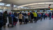 Estados Unidos supera récords de viajeros en avión desde que comenzó la pandemia del coronavirus
