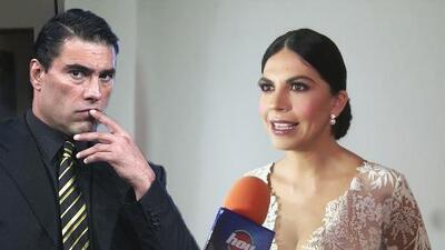 África Zavala reacciona a los rumores sobre que le fue infiel a Eduardo Yáñez con su actual pareja León Peraza