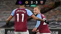 El West Ham en zona de Champions y los Wolves anhelan el regreso de Raúl