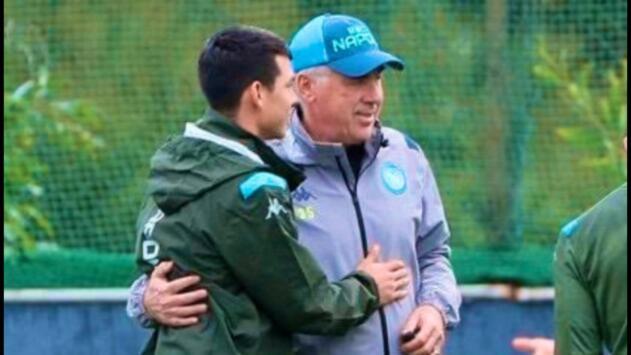 Así fue la sentida despedida del 'Chucky' a Carlo Ancelotti