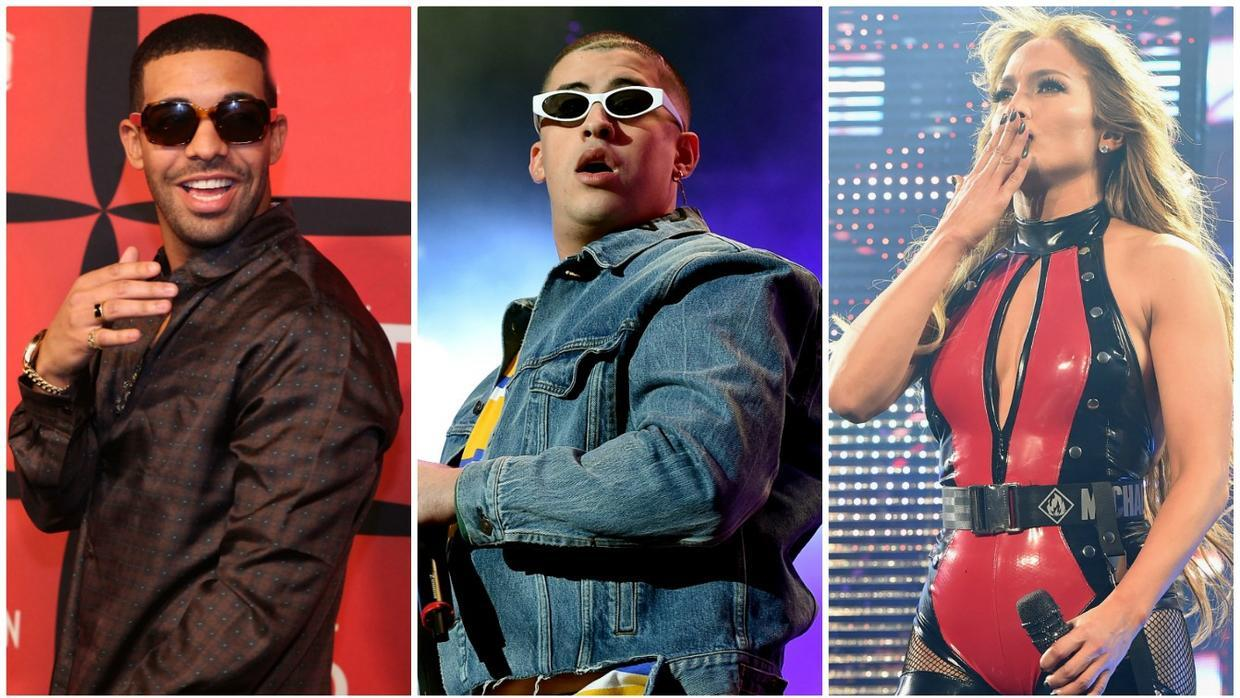 9b29347e0ce Jennifer Lopez and Drake both working with Bad Bunny