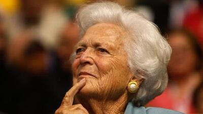 Muere a los 92 años Barbara Bush, la 'primera abuela' de EEUU y piedra fundamental de la dinastía Bush
