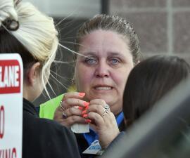 En fotos: Un hombre y una mujer mueren en un tiroteo en un supermercado de Kentucky