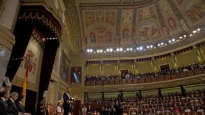La proclamación de Felipe VI, seguida en directo por medios internacionales