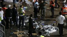 Luto en Israel: estampida en evento religioso deja un saldo de al menos 45 muertos y 150 heridos