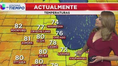 Un día soleado y de condiciones secas le espera a Chicago durante este lunes