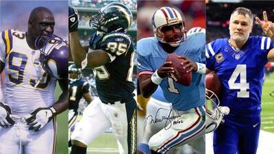Los 15 jugadores históricos no elegidos en el NFL Draft