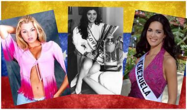 Todas estas famosas fueron primero Miss Venezuela