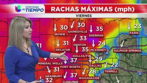 Ventana al Tiempo: Condiciones nubladas y con frío este sábado en Dallas