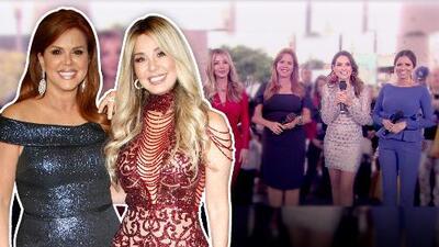 María Celeste Arrarás regresó a Univision y se reencuentra con Myrka Dellanos en Primer Impacto