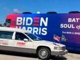 Política demócrata recuerda el historial violento de simpatizantes de Trump en Texas
