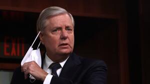 El senador Lindsey Graham dice que el Partido Republicano no tiene futuro sin Trump