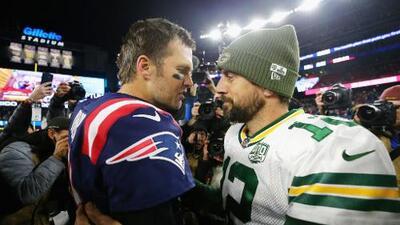 Tom Brady y Aaron Rodgers, las dos rutas hacia el éxito y la eternidad