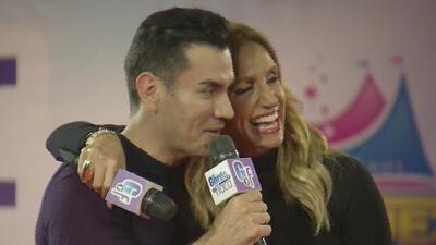 David Zepeda fue invitado especial de Raúl y Lili en el Circo de los Hermanos Vázquez