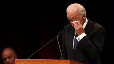 """Soy Joe Biden, demócrata y amo a John McCain"": las sentidas palabras del exvicepresidente"