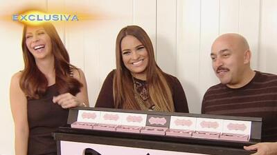Mayeli Rivera, esposa de Lupillo, sabe mover bien sus pestañas