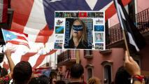 Manifestantes hacen presencia en calles de Puerto Rico para pedir la renuncia de la gobernadora