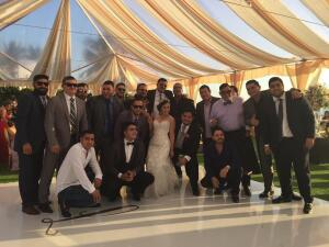 La boda de Isaac Salas, de la Adictiva, con Lorenita, locutora de Univision