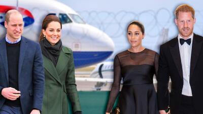 William y Kate evitan las críticas de las que fueron objeto Harry y Meghan y optan por viajar en vuelo comercial