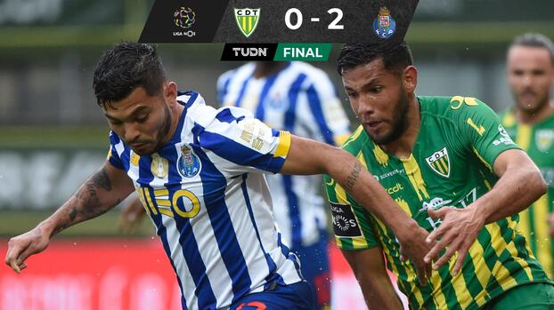 Con 'Tecatito', Porto vence al Tondela y se acerca al Sporting