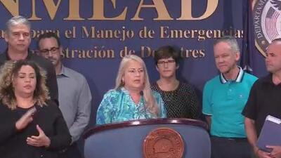 Wanda Vázquez dio el saldo del paso del huracán Dorian