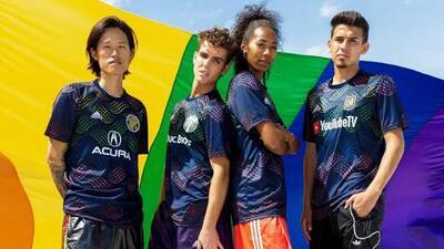 La usarán Vela y compañía: la MLS lanza una playera especial dentro de su iniciativa 'Soccer For All'