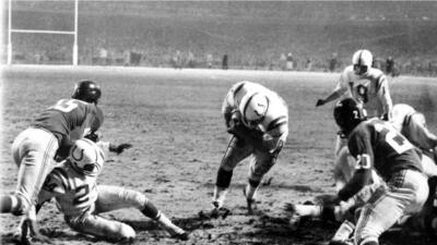 Los momentos épicos en la historia del fútbol americano profesional