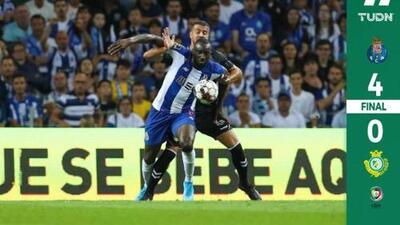 Con un Zé Luís en estado de gracia, Porto goleó al Vitoria Setúbal