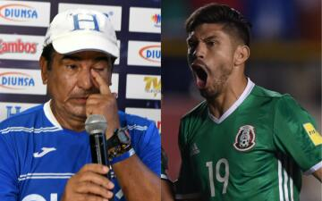 Pinto tuvo en sus manos el Mundial del 'Tri' y ahora México será su juez contra Honduras