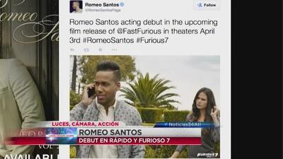 Romeo Santos debuta en el cine