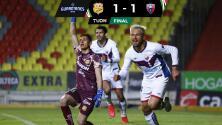 Resumen | El Ronaldo del Atlante da valioso empate 1-1 en Morelia