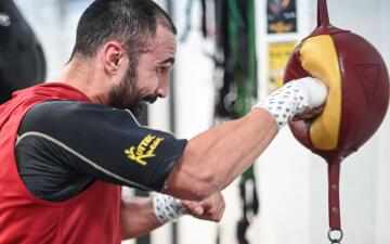 Paul Malignaggi se prepara para su debut en Bare Knuckle Fighting Championship