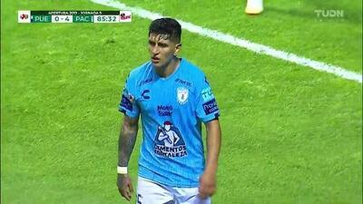 Tiro desviado de Víctor Guzmán