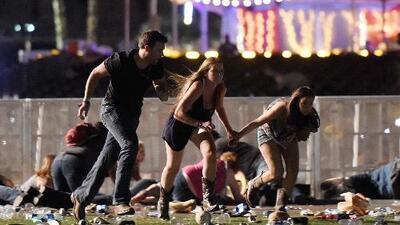 Publican nuevas imágenes de la masacre en Las Vegas donde murieron decenas de personas
